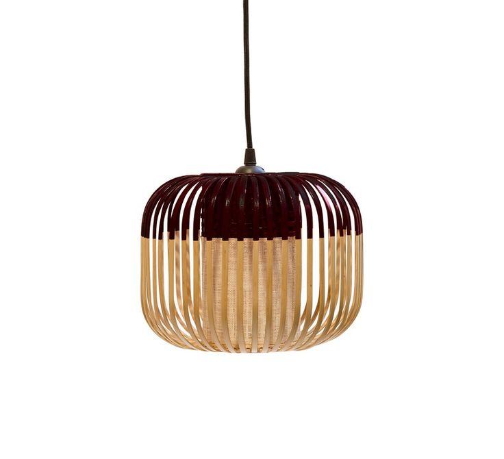 Bamboo Light XS Black #bamboo #light #arik #levy #forestier #design #designlighting #wood