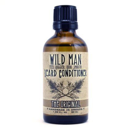 Amazon.com: Wild Man Beard Conditioning Oil - The Original (50ml/1.69 fl. oz): Health & Personal Care