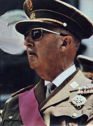 Franco -was a Spanish general and the Caudillo of Spain from 1939 until his death in 1975.