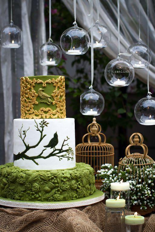 Tran Linh's Bas relief cake
