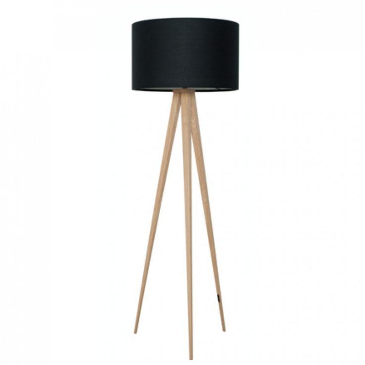 LAMPA PODŁOGOWA HEAVY WOOD + BLACK MOMA 1332 PLN