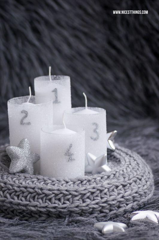 die besten 25 adventskranz selber machen ideen auf pinterest weihnachtsdeko selber machen. Black Bedroom Furniture Sets. Home Design Ideas
