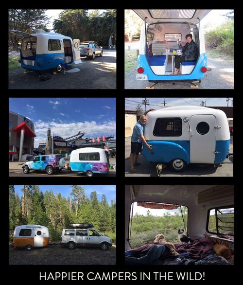 Peep some action shots of our happy customers enjoying their trailers– from California to South Carolina and everywhere in between! See their adorable configurations and get inspired! To be featured...