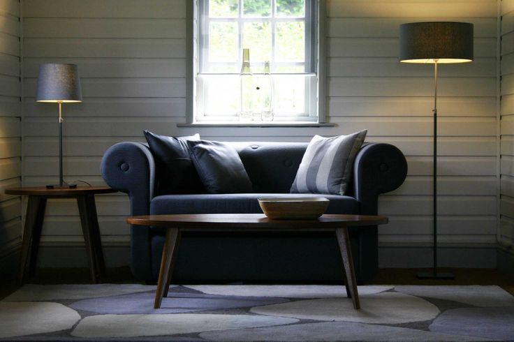 Baltic Floor Lamp - Harlem Large Armchair | pr home