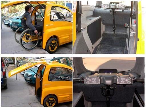 #Kenguru: Un pequeño #coche para usuarios de #SillasdeRuedas