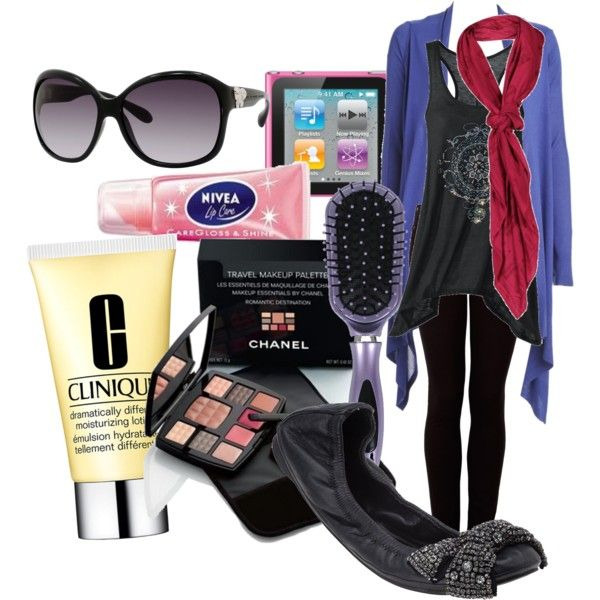 """25. What to wear on a long flight"" by i-rock2011 on Polyvore"