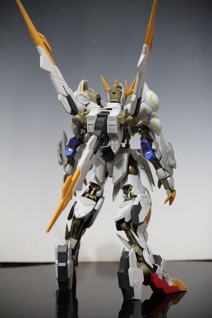 Custom Build: 1/100 Full Mechanics Gundam Barbatos Lupus Rex [GBWC 2017] - Gundam Kits Collection News and Reviews