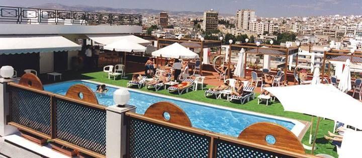 Ξενοδοχείο Καψής στη Θεσσαλονίκη - Στεγανοποίηση δεξαμενής πισίνας στο roof garden (1996)