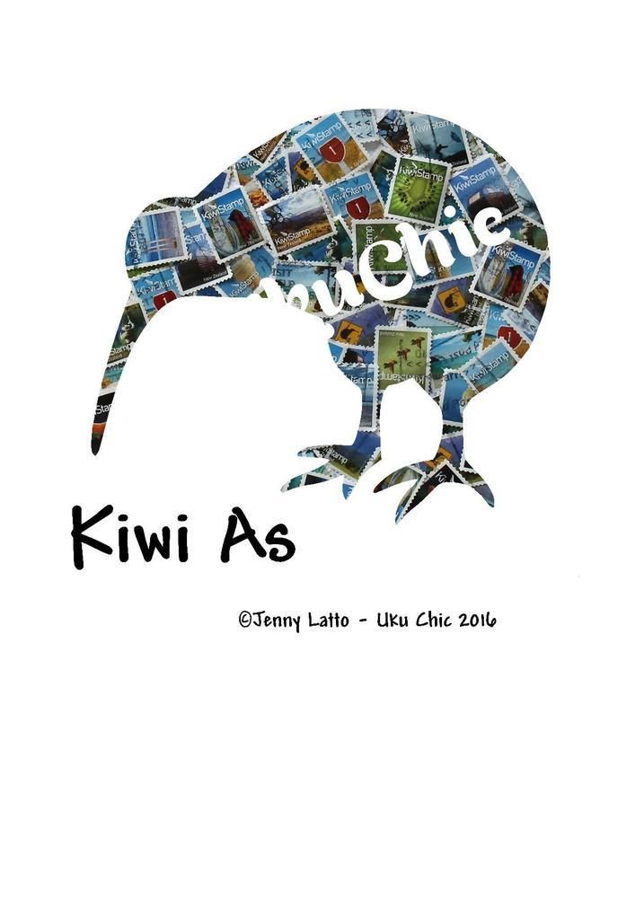 """Kiwi As"" Image  Digital Download, 5.00NZD"