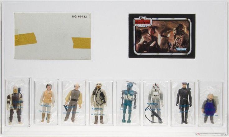 Star Wars 1981 Vintage Kenner Department Store ESB Figures 8-Pack AFA 75   eBay