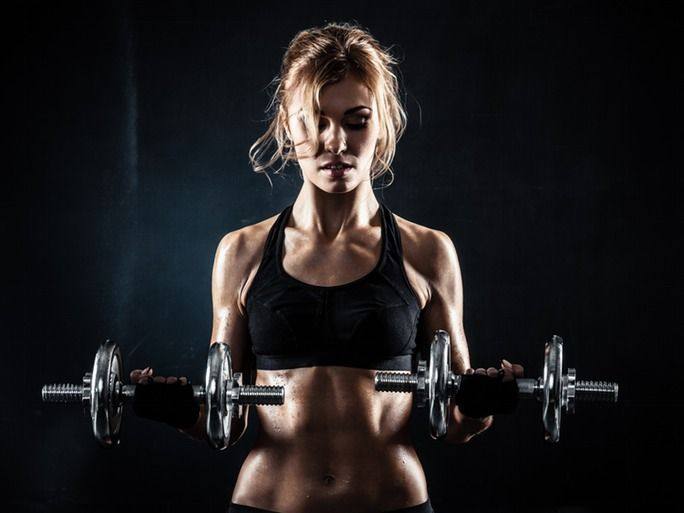 Quick: What's the first thing that comes to mind when someone says weight lifting? Seriously jacked up bodies? Intimidatingly heavy looking dumbbells? Chest-bumping bros? If any of those mental images have scared you away from the weight room, you're missing out. Because as great as cardio is,
