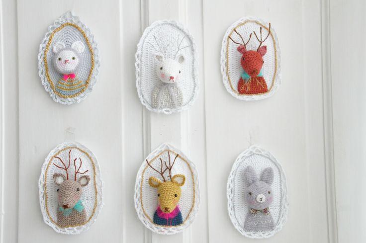 Jolis Animaux en Crochets.