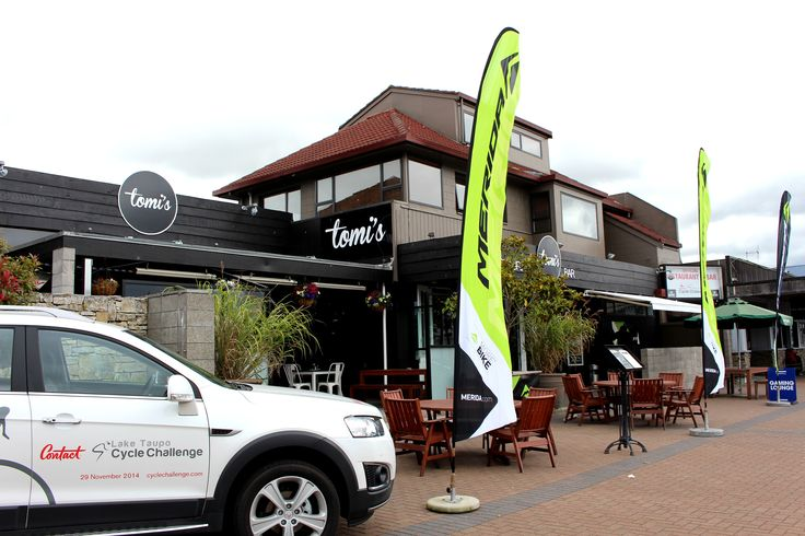 Tomi's is the official sponsor bar for many local annual events such as Cycle Challenge