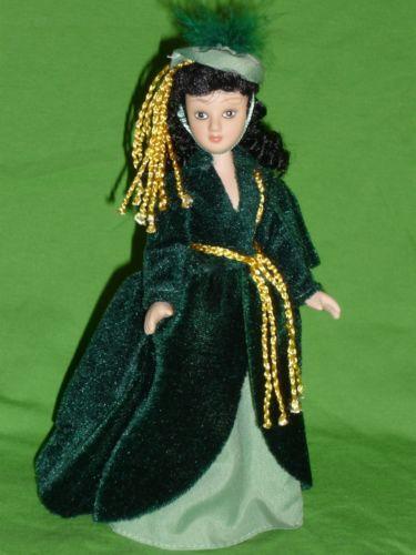 Scarlett-Ohara-DeAgostini-porcelain-doll