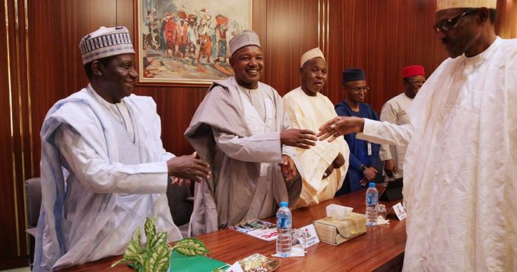 Buhari governors meet in Aso Rock http://ift.tt/2BsmKQ4