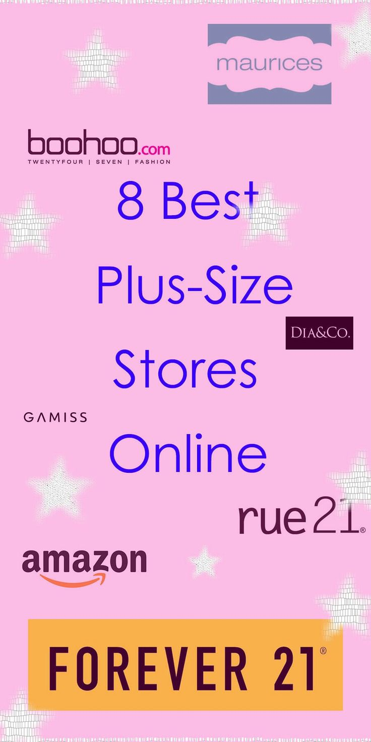 Check out these 8 stores for plus size shopping online!