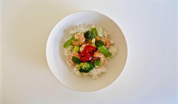 Gluten Free Green Thai Prawn Curry