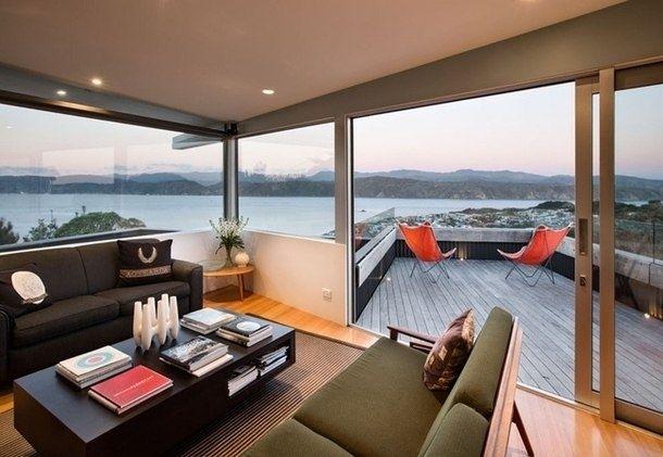Дом на холме в Новой Зеландии - Дизайн интерьеров | Идеи вашего дома | Lodgers
