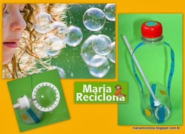 Hoje Maria Reciclona trouxe uma sugestão que vai agradar as crianças.   Usando materiais simples, elas podem construir um equipamento para s...