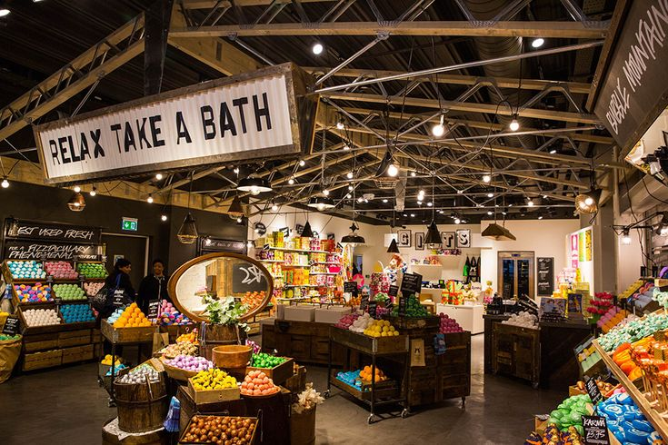 Inside Lush's new store on London's Oxford Street