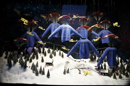 Selfridges, festive Windows