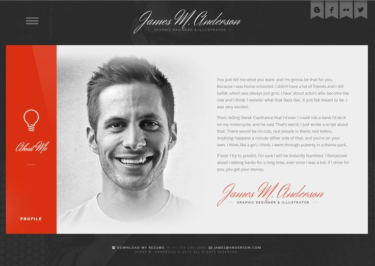 CEEVEE – RESPONSIVE CV RESUME WORDPRESS THEME