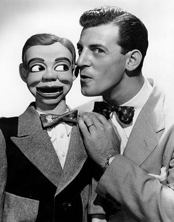 Paul Winchell & puppet Jerry Mhoney