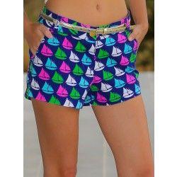 Oh, Buoy Shorts-Sailboat - $48.00