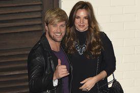 Kian Egan and wife Jodi Albert Celebrity pregnancies 2014 - via Parentdish