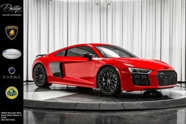 2017 Audi R8 V10 Plus Coupé 52l 10 Zylinder Motor Automatik Automatik Coupe Motor Zylinder New Audi R8 V10 Audi R8 V10 Plus Audi R8