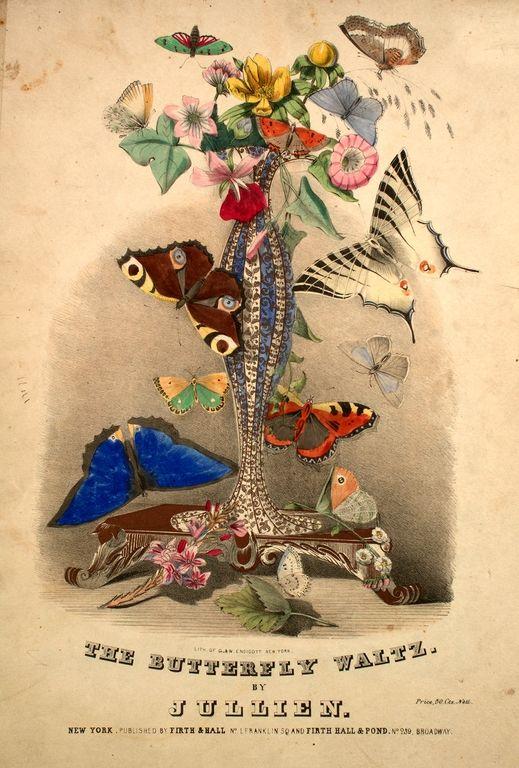 The Butterfly Waltz. Sheet music.