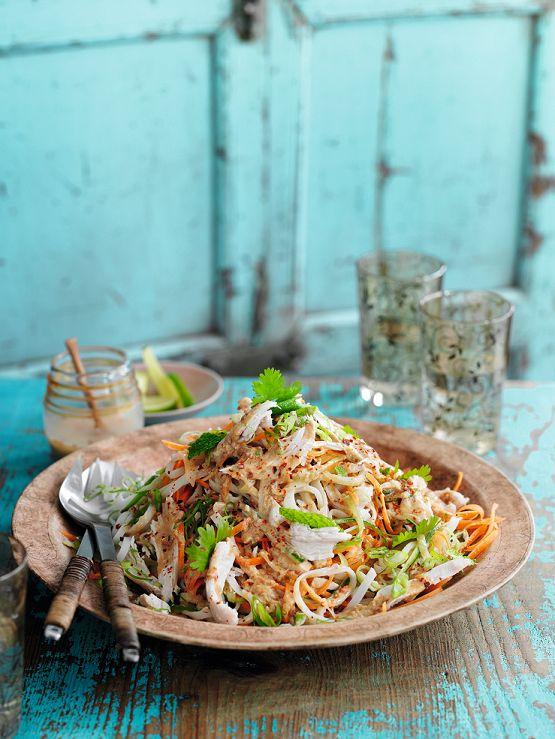 Bang Bang Chicken Noodle Salad.