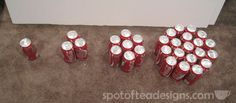 how to make a beer can cake- want to do for tommys birthday!