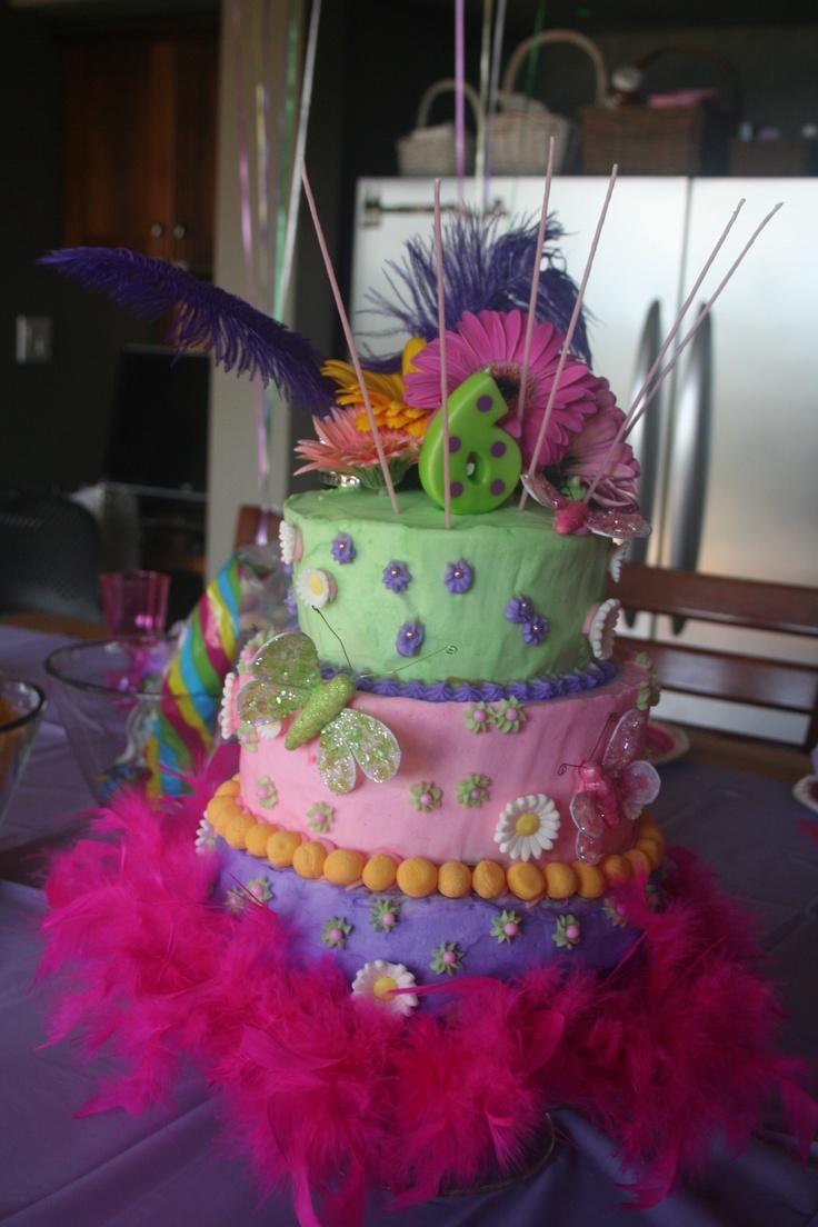Fancy Nancy Birthday Cake Images