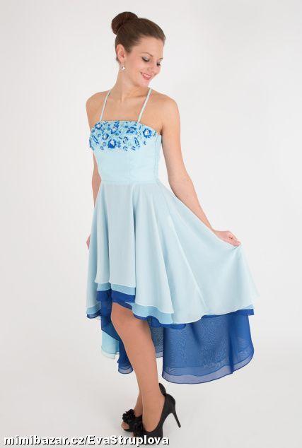 Společenské dívčí šaty na ples bál taneční