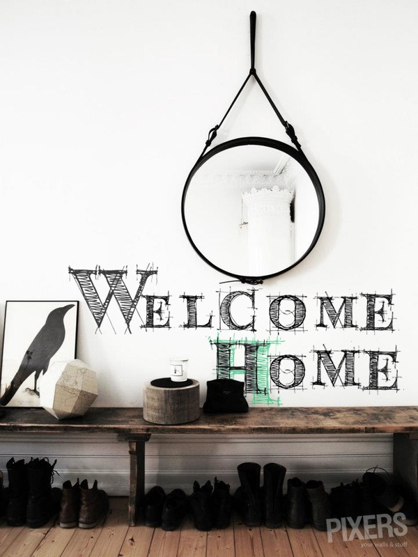 Welcome Home Decal!