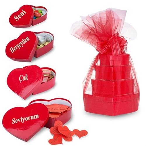 Seni Herşeyden Çok Seviyorum Çikolata Kulesi :: Sanal Pazarın