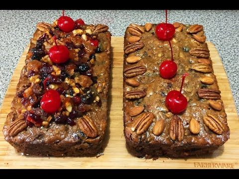 Fruit cake para Navidad o año nuevo / Fruit cake for XMAS or new year's eve. - YouTube