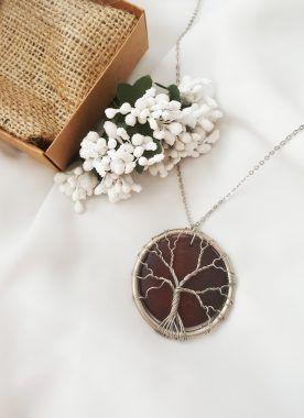 Ağaç kolye