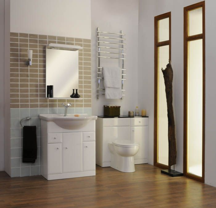 Photos On The Practicality of Utilizing Vanity Units for Small Bathrooms