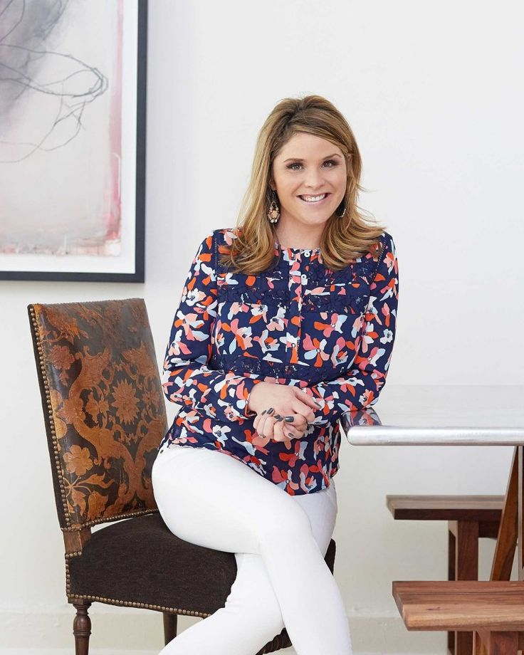 Jenna Bush Hager in Draper James | Love, Reese Blog