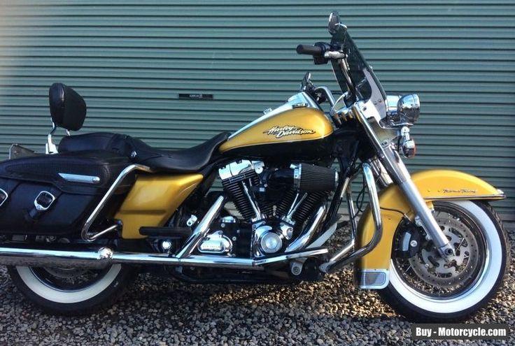 2008 Harley Davidson Road King Classic Motorcycle Gold (FLHRC)  #harleydavidson #roadkingclassic #forsale #australia