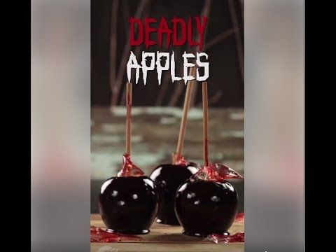 Who wants DEADLY APPLES  - SCARY PRANK VIDEO