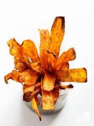 Carrot Chips with Honey 'Yogurt' Dip | Paleo Grubs