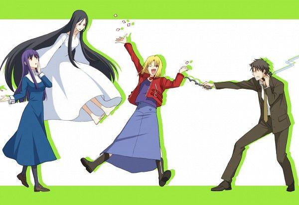 Tags: Anime, TYPE-MOON, Kara no Kyoukai, Asagami Fujino, Fujou Kirie