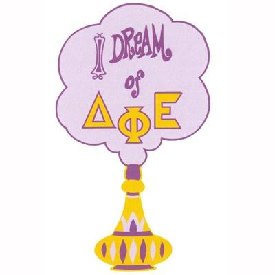I dream of... #Sorority Rush Shirt #DeltaPhiEpsilon #Rush #Recruitment