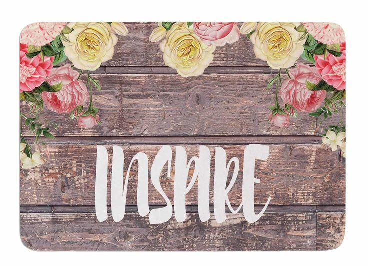 Inspire by Suzanne Carter Bath Mat