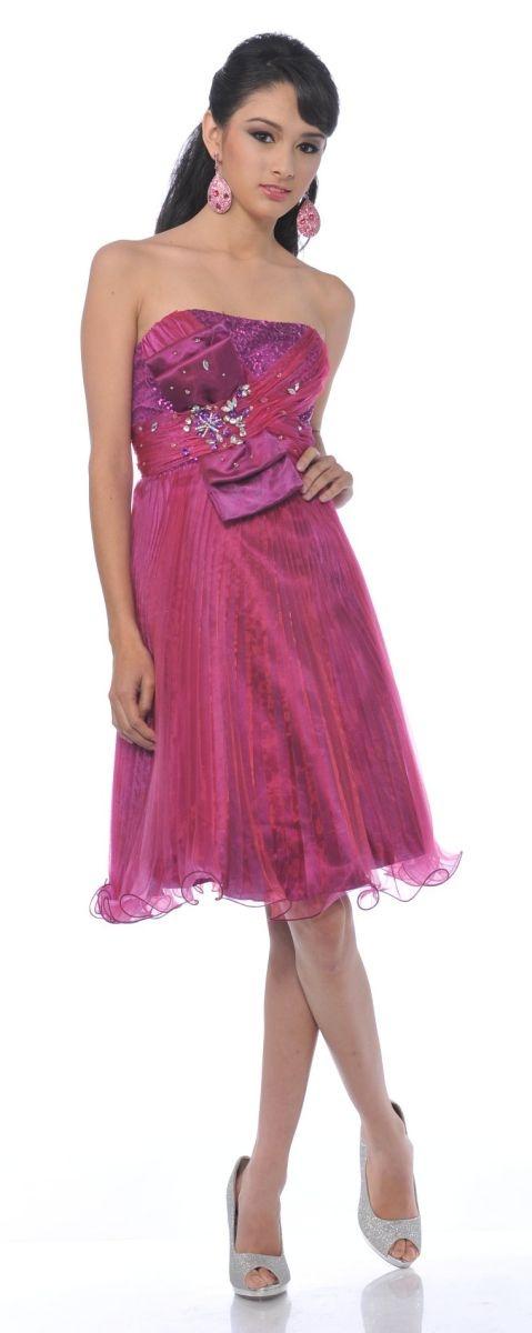 132 mejores imágenes de Knee Length Dresses en Pinterest | Vestidos ...