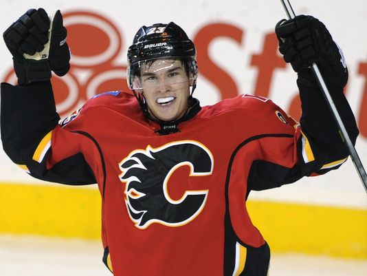 The Calgary Flames have announced that rookie center Sean Monahan (19) will be staying with the team for the entire season. 2013