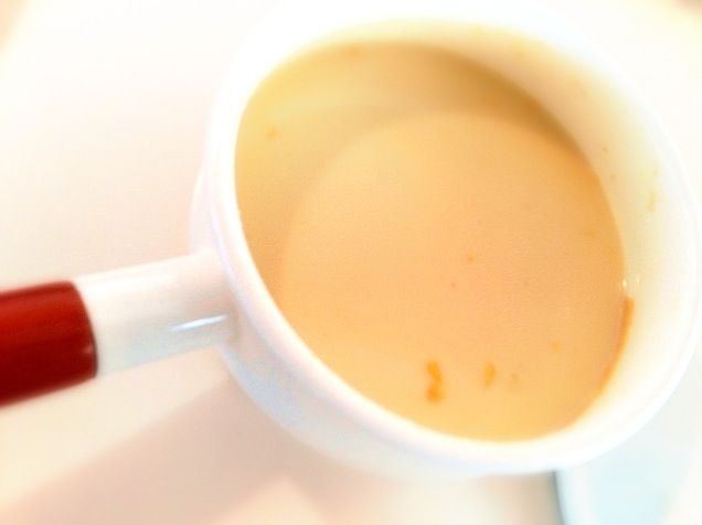 ソイミルク、コーンクリーム缶、塩、白味噌を混ぜるだけ。さらさらなのにコクがあって美味です! - 4件のもぐもぐ - ヴィーガン・コーンスープ by megmorisaki1